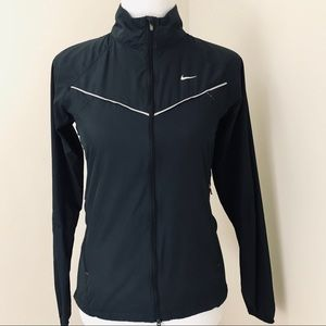 NIKE Black Lightweight Training Full Zip Jacket